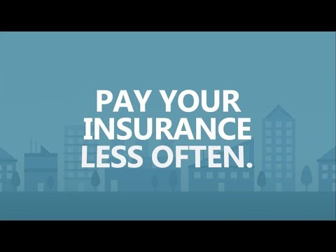Save Big in 30 seconds a day: Pay your insurance less often.