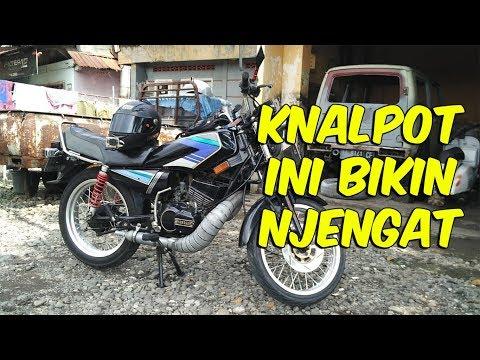 Knalpot Racing Rx King, Serasa Terbang Tarikannya