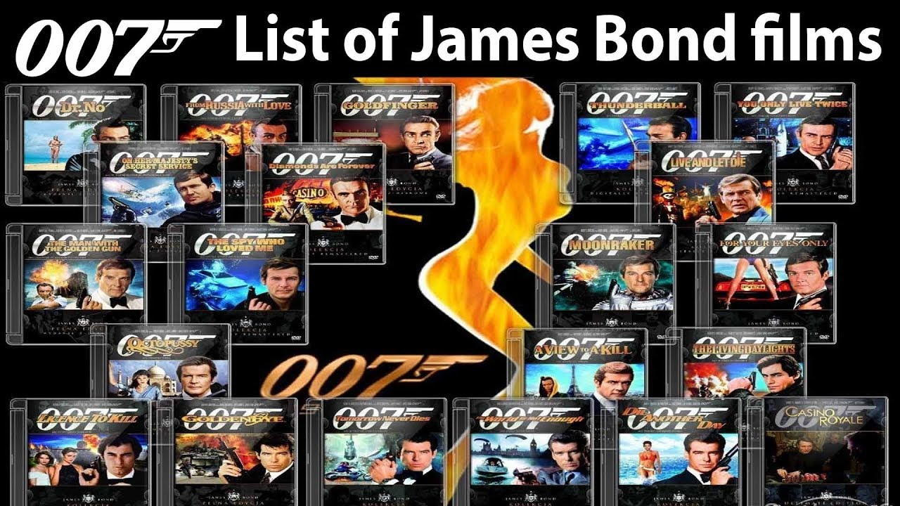 Interesting Fact List Of All James Bond Movies