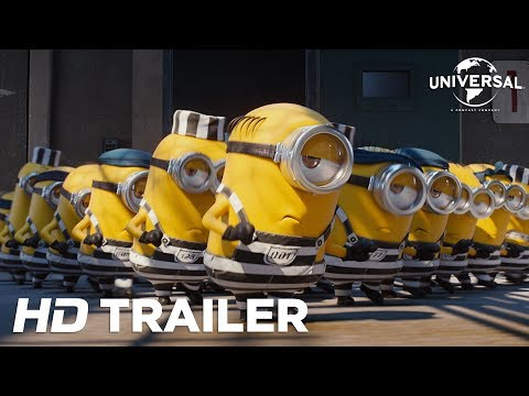 Despicable Me 3 Official Trailer 3 (Universal Pictures) HD