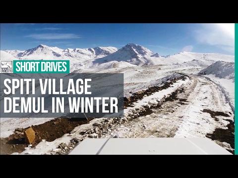 Winter Drive to Demul - A Himalayan Village in Spiti