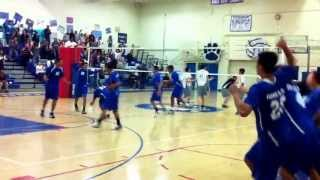 Eagle Rock vs. Jordan Volleyball City Semi-Finals 2011 Thumbnail