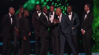 cleveland cavaliers wins best team at espy awards 2016 lebron james