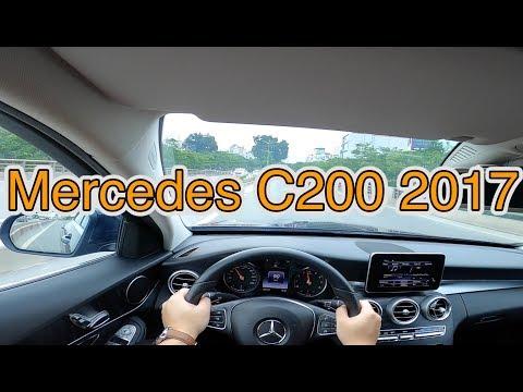 Mercedes C200 2017 - xe dành cho phụ nữ mà chả nữ tí nào   POV test drive