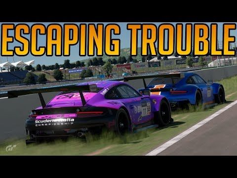 Gran Turismo Sport: Escaping Trouble... Mostly Anyway thumbnail