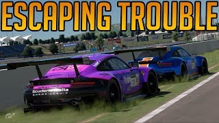 Gran Turismo Sport: Escaping Trouble... Mostly Anyway