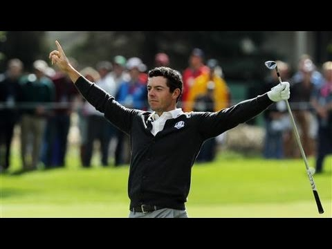 Rory McIlroy's 100-Yard Hole-Out Ahead of Ryder Cup