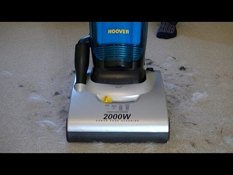 Hoover Dustmanager Bagless Upright Vacuum Cleaner Demonstration & Review