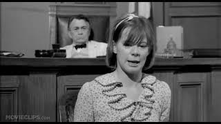 To Kill a Mockingbird 4 10 Movie CLIP   Atticus Cross Examines Mayella 1962 HD