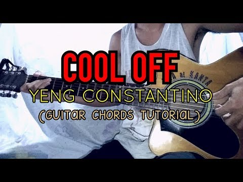 COOL OFF - Yeng Constantino ( Easy Guitar Tutorial ) - YouTube