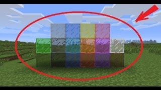 цветное Стекло Minecraft Pocket