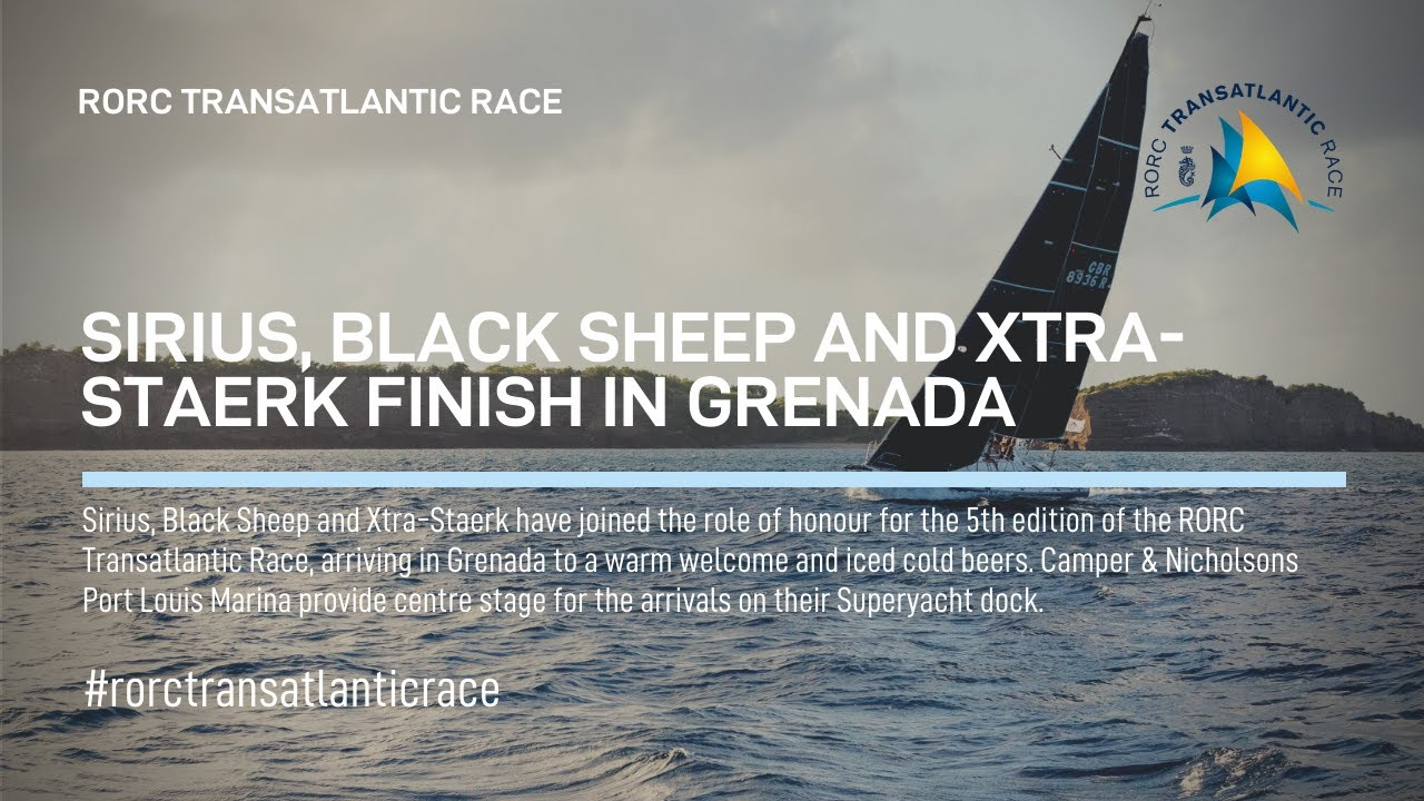 2018 RORC Transatlantic Race Sirius, Black Sheep, Xtra Staerk