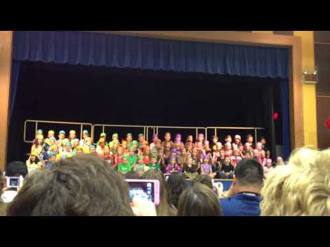 Consolidated Elementary School singing function