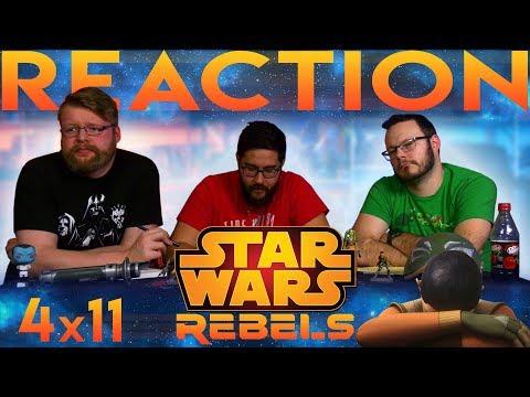 "Star Wars Rebels 4x11 REACTION!! ""DUME"""
