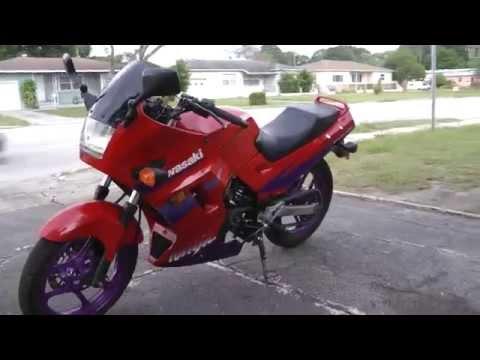 Ninja 250 powered by Honda cr250 2 stroke
