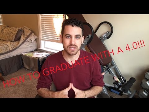 HOW TO GRADUATE WITH A 4.0, My Top 5 Tips To Help You Graduate With Straight A's