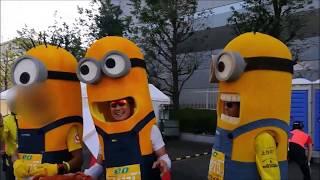 第8回 大阪マラソン ~OSAKA MARATHON 2018~(*^^)v大阪城公園前からイ...