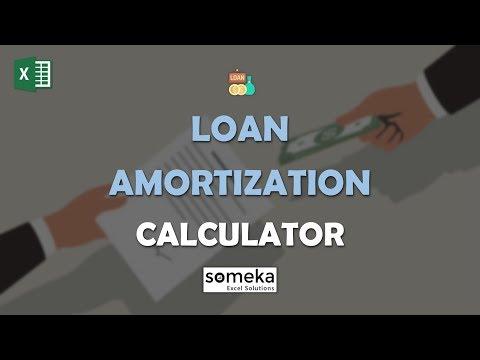 Loan Amortization Calculator | Excel Loan Amortization Schedule