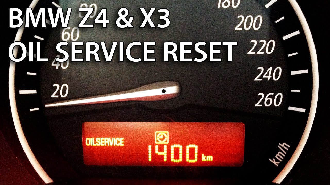 How To Reset Oil Service Inspection In Bmw Z4 Amp X3 Srl