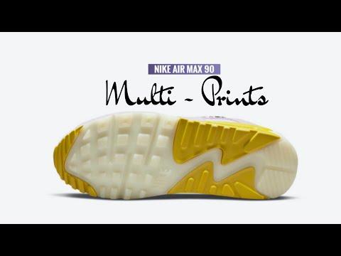 MULTI-PRINTS 2021 Nike Air Max 90   Release Info