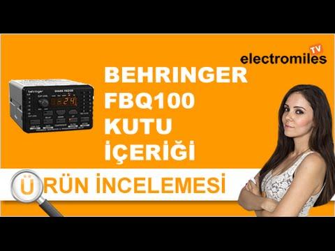 Behringer FBQ100 Feedback Kesici PreAmfi Kutu İçeriği