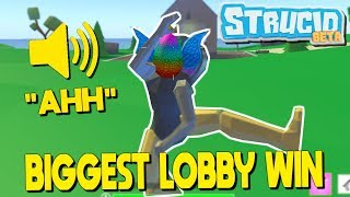The BIGGEST Lobby In Strucid Battle Royale... (Roblox Fortnite)