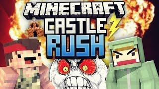 DER HEFTIGSTE AUSRASTER! - Minecraft CASTLE RUSH VS Rewi #06 | ungespielt