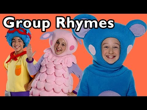 Ring Around the Rosy and More Group Rhymes | Nursery Rhymes from Mother Goose Club!