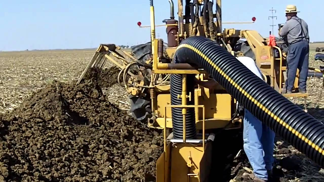 Agricultural Machinery Design : How to tile a field design ideas