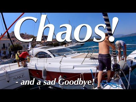 Motorboat captain creates chaos while docking! Loses his head. - Sail Mermaid S3 E16