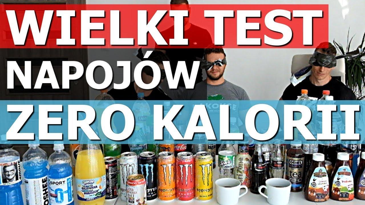 WIELKI TEST NAPOJÓW ZERO: Coca-Cola vs Pepsi, Monster, Sprite, Fanta, Oshee, Ice Tea