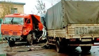 Best truck crashes, truck accident compilation 2016 Part 1