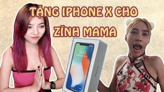 Trò Đùa Tặng IPHONE X Thử Lòng Mama || TROLL BY OHSUSU