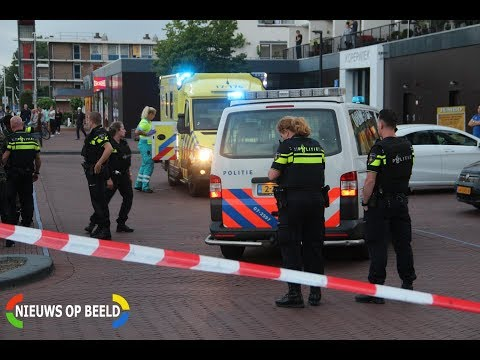 Schietpartij winkelcentrum de Koperwiek Reigerlaan Capelle aan den IJssel