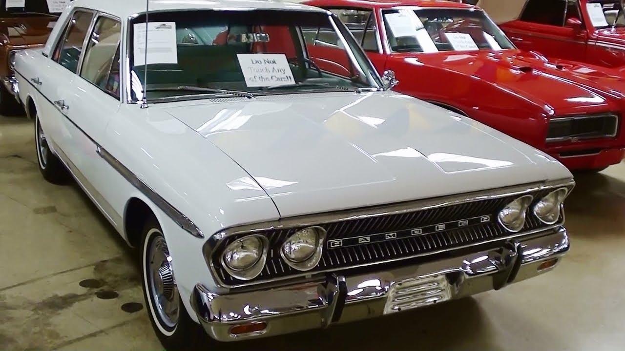 Show Winning 1963 Amc Rambler Classic 660 Youtube
