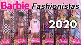 BARBIE FASHIONISTAS 2020 ! UNBOX REVIEW