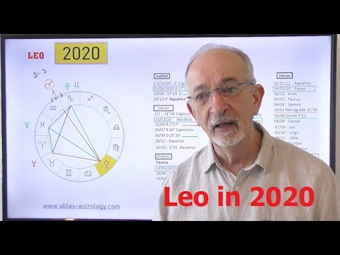 HOROSCOPE LEO for 2020