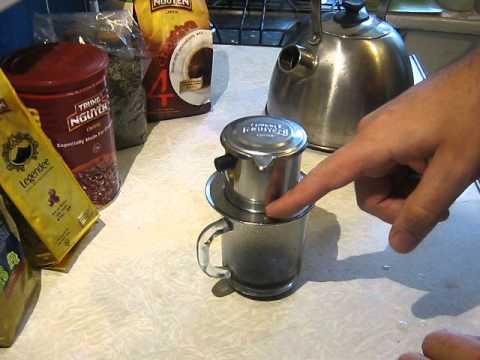 Как заваривать кофе по вьетнамски