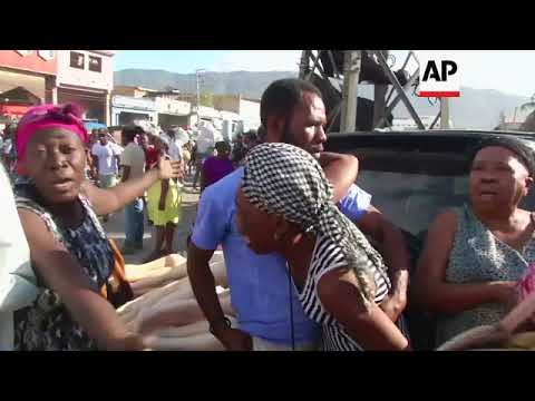 Another fire sweeps through market in Haiti's capital