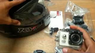 Cara Memasang Camera Kogan ke Helm