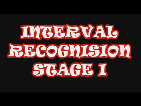 Interval recognition stage 1 - P1, P4, P5, P8