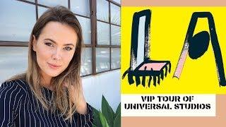 VIP TOUR OF UNIVERSAL STUDIOS - LA VLOG | Emirates Cabin Crew