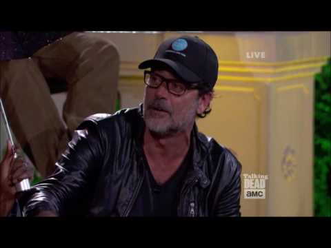 Talking Dead - Jeffrey Dean Morgan on Negan not being the villain