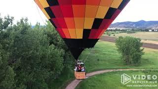 Rocky Mountain Hot Air Balloon Ride
