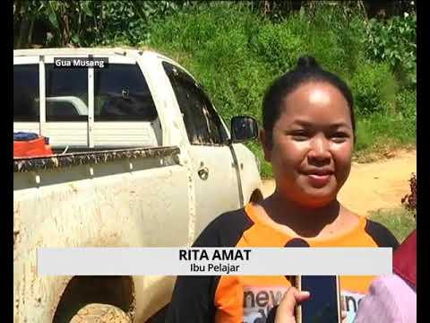 AWANI - Kelantan: Jalan balak rosak pelajar orang asli gagal ke sekolah