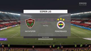 FIFA 21 Hatayspor vs Fenerbahce Turkey Super Lig 02 02 2021 1080p 60FPS