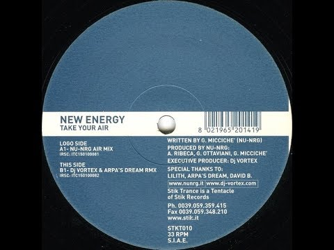 New Energy - Take Your Air (Nu NRG Air Mix) (2001)