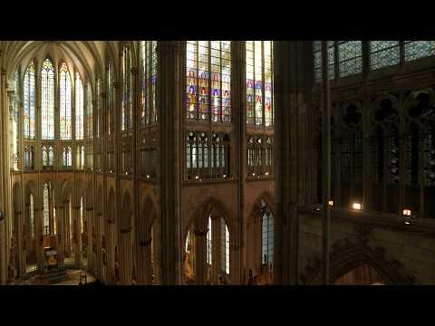 Ostergruß 2020 - Kölner Dom - Vom Dunkeln Ins Licht