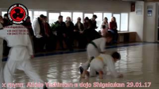 Семинар и детская аттестация Aikido Yoshinkan в dojo Shigakukan 29 января 2017 год видео 6(, 2017-02-02T07:58:52.000Z)