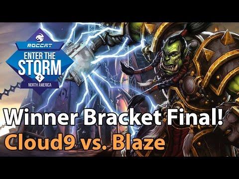 ► Heroes of the Storm Pro Gameplay: Cloud9 vs. Blaze - ETS NA Finals